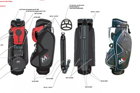 MacGregor Golf Europe Ltd  I  MT technology golf bag