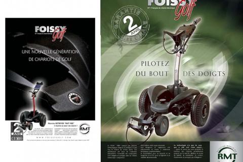 Foissy Golf I Création supports de communication