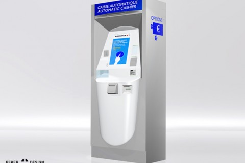 Air France I MBS I Payment terminal excess baggage product design
