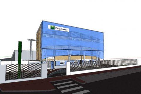 Orabank Gabon I Accompagnement retail design agence siège Libreville