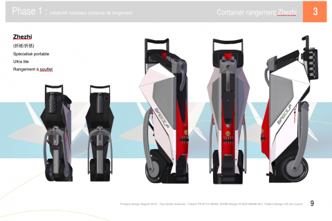 Zhezhi I Prospective design for Golf Bag project
